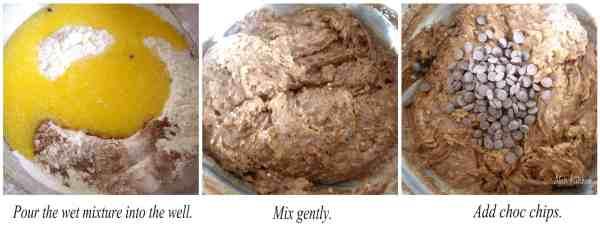 double choc chip muffins recipe 2