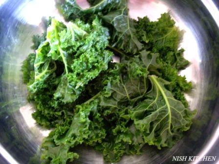 Kale Paratha recipe 4