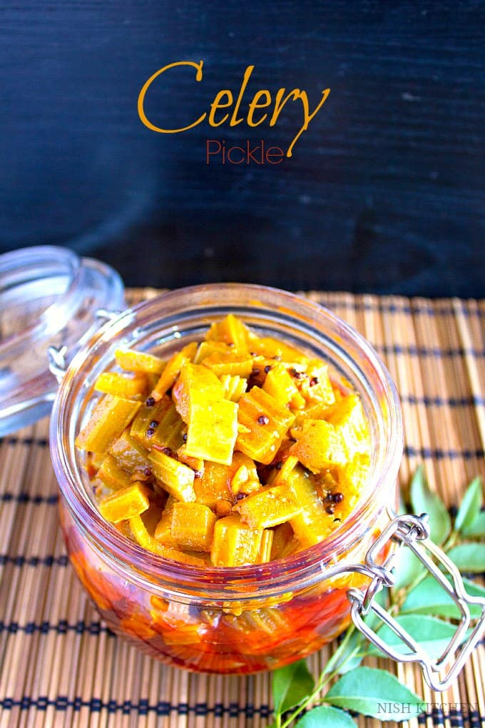 Celery Pickle recipe