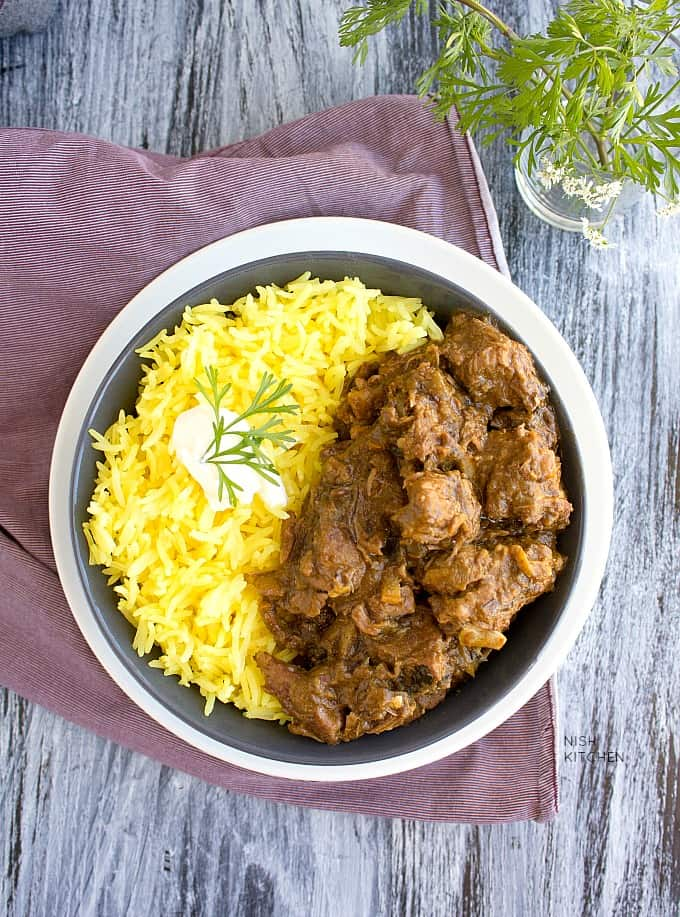 slow cooker lamb curry video