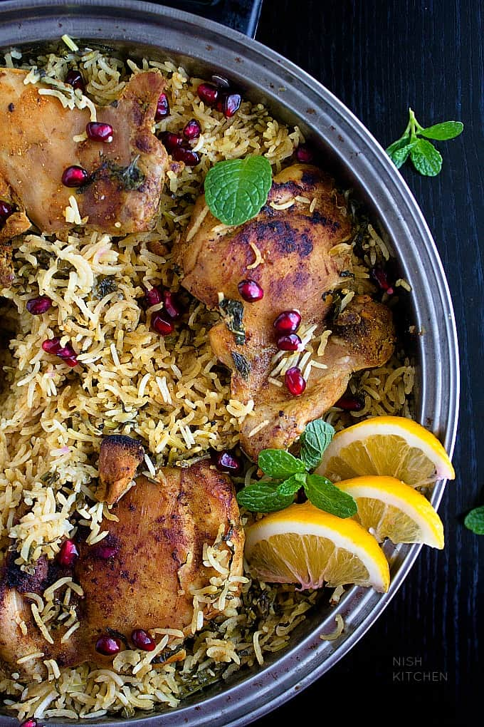 indian chicken and rice