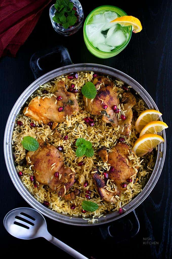 One pot indian chicken and rice video nish kitchen indian chicken and rice recipe video forumfinder Choice Image