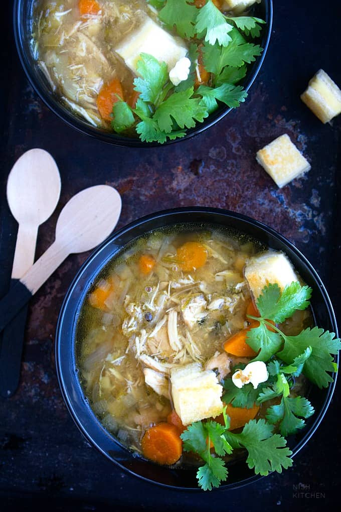 Slow cooker chicken soup indian style video nish kitchen slow cooker chicken soup indian style recipe video forumfinder Gallery