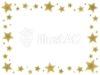 金の星フレーム