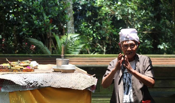 Bali local Man