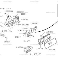 Nissan Patrol Wiring Diagram Fluorescent Strip Light 248 Instrument Meter Gauge For Y60 Auto Parts Scheme A01 A02