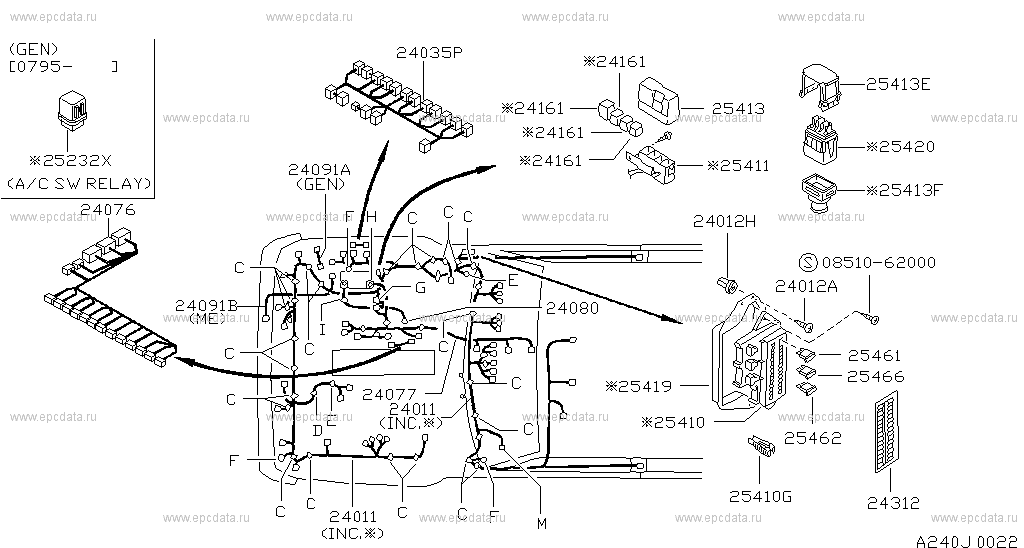 [DIAGRAM] Nissan Patrol Y61 Fuse Box Diagram FULL Version