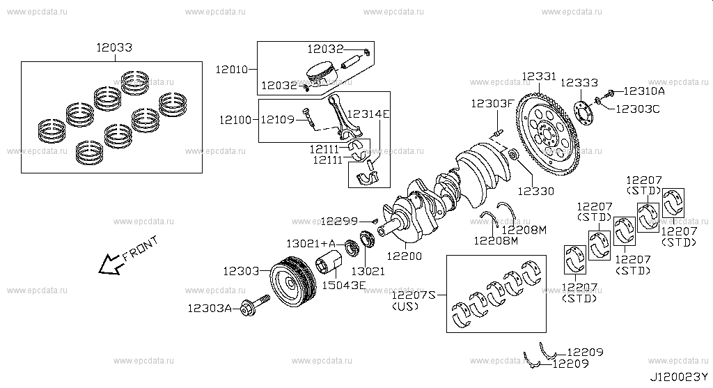 Service manual [Rod Bearing Replacement Torque 2010