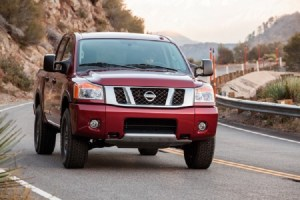 2015 Nissan Titan front view