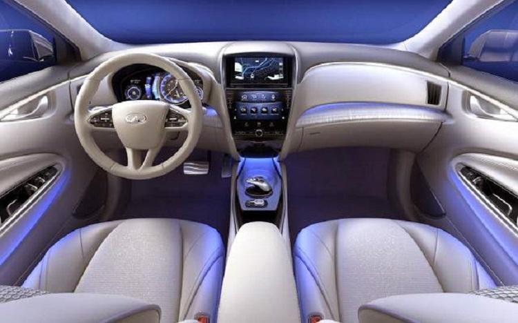 2015 infiniti Q60 coupe interior