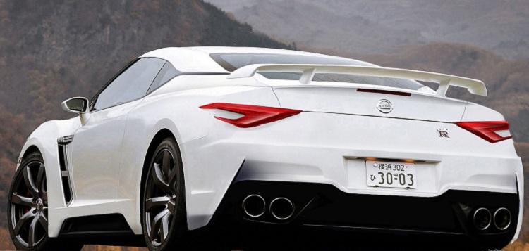 2016 Nissan GTR Nismo rear view