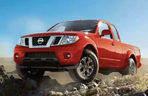 2016 nissan frontier front view
