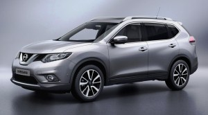 2016 nissan x trail front view