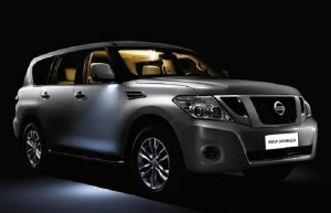 2017 nissan armada front view