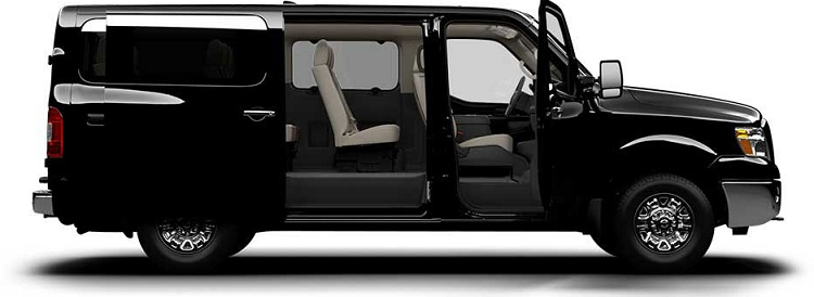 2015 Nissan NV Passenger side view