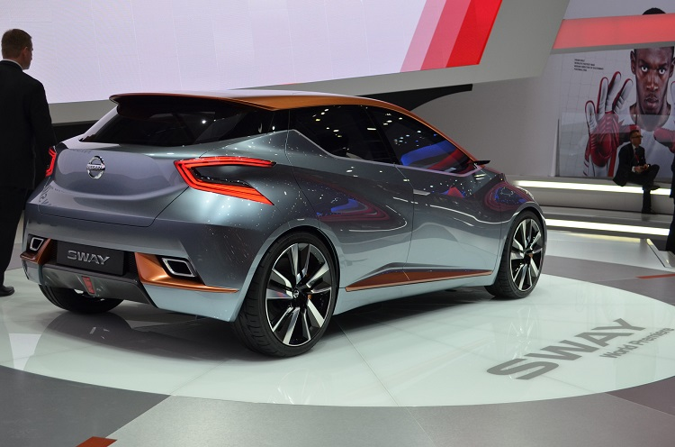 Nissan Sway Concept rear view