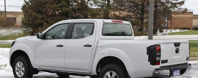 2018 Nissan Frontier rear view