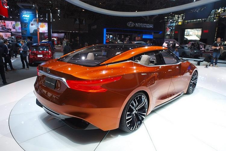 2018 Nissan Maxima rear view