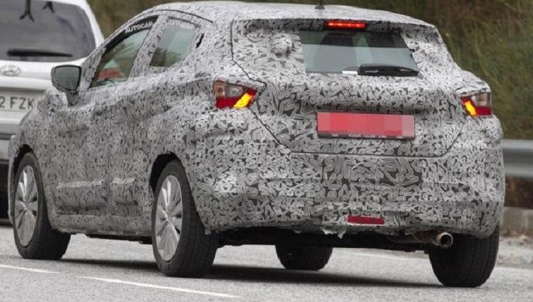 2018 Nissan Micra spy pics