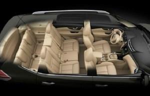2018 Nissan X-trail interior