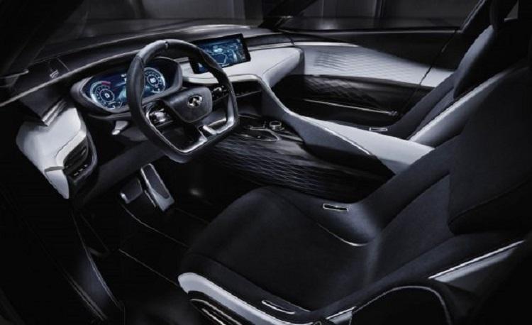 2018 Infiniti QX50 interior