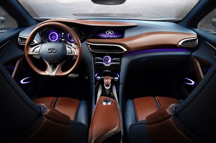 2019 Infiniti QX30 interior