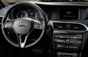 2018 Infiniti Q30 interior