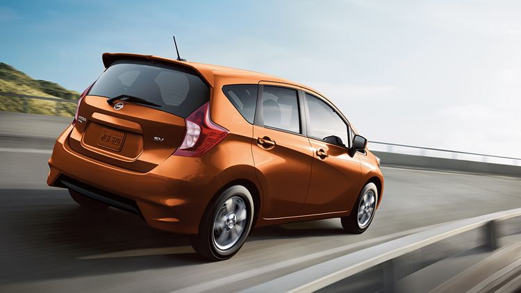 2017 Nissan Note rear view