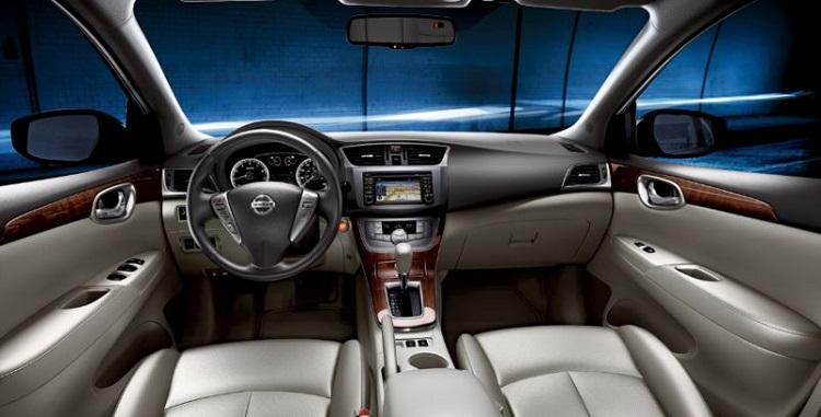 2017 Nissan Sylphy interior