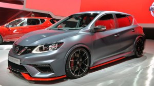 2018 Nissan Pulsar Nismo front view