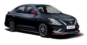 Nissan Almera Nismo front view