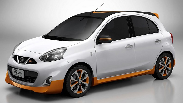 Nissan March Sport II front view