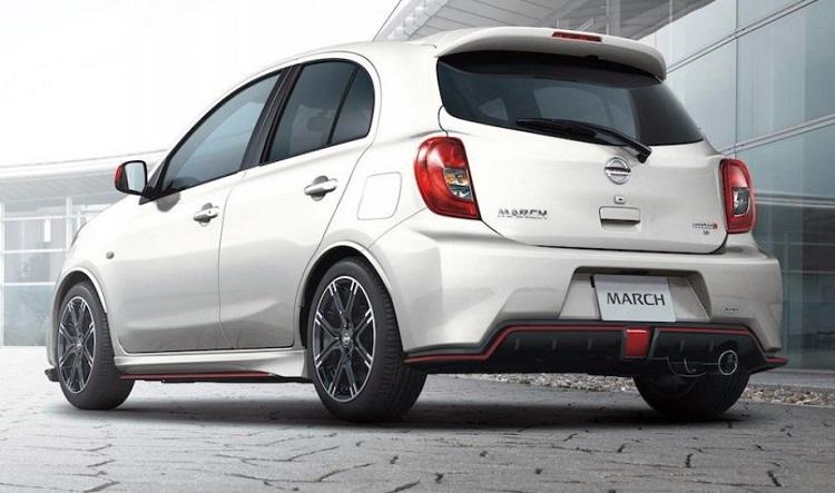 Nissan March Sport II rear view