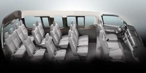 Nissan NV350 Urvan interior
