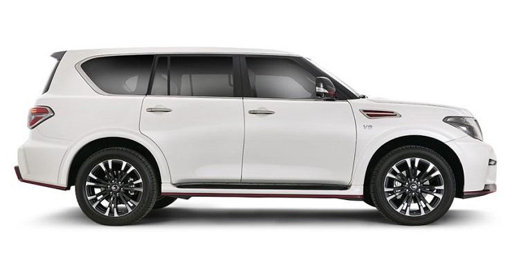 Nissan Patrol Nismo side view