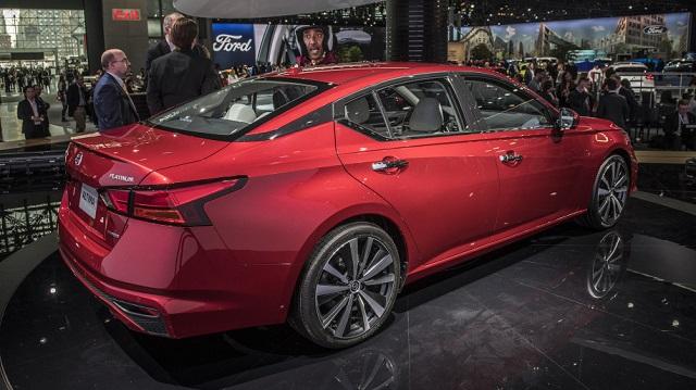 2019 Nissan Altima rear view