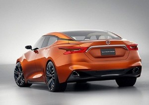 2019 Nissan Maxima Nismo rear view