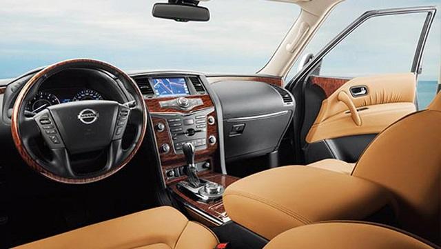 2019 Nissan Patrol interior
