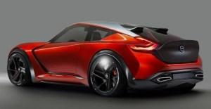 2019 Nissan 400Z rear view