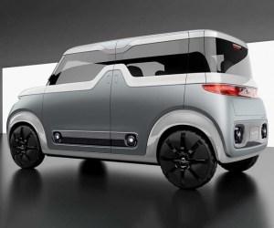 2020 Nissan Cube rear
