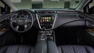 2022 Nissan Murano interior