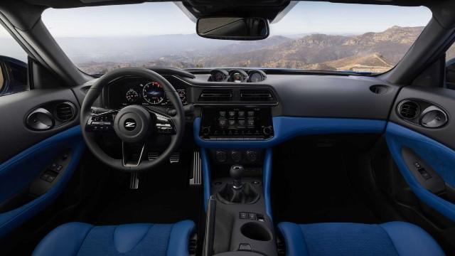 2023 Nissan Z Sports Car interior