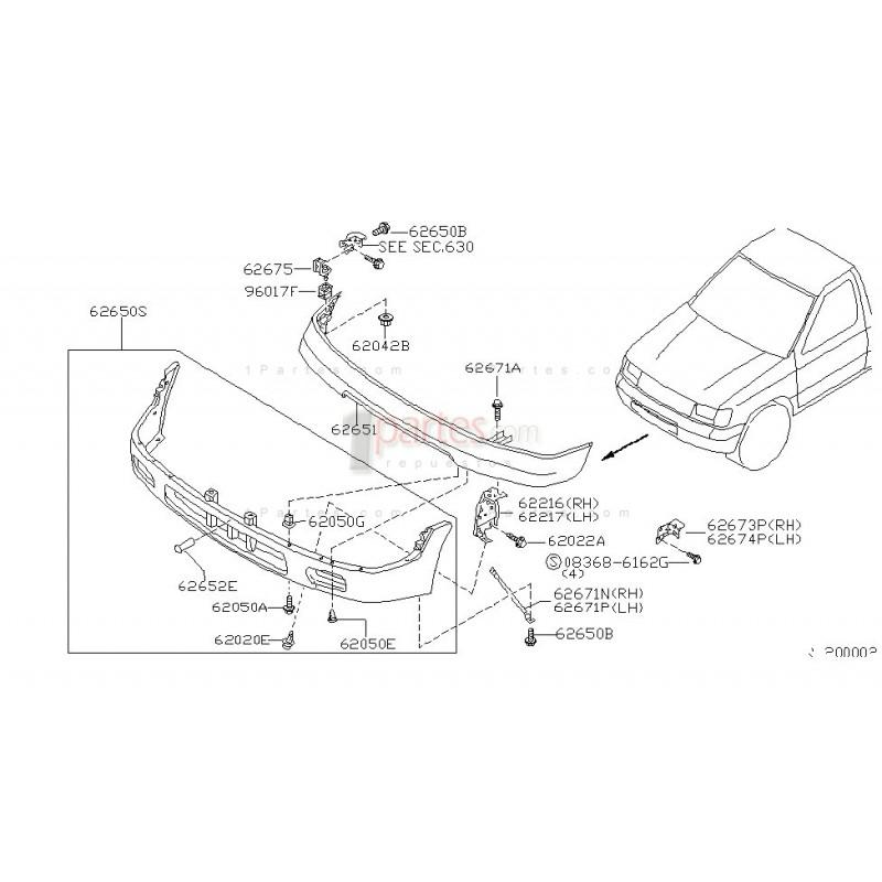 Cubierta inferior|Nissan|Frontier|D22 Pickup|Navara|NP300