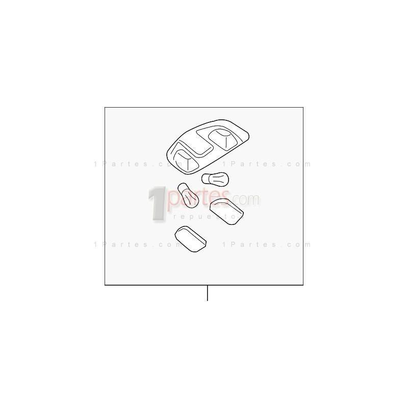 Lampara|Nissan|Frontier|D22 Pickup|Navara|NP300|264308B400