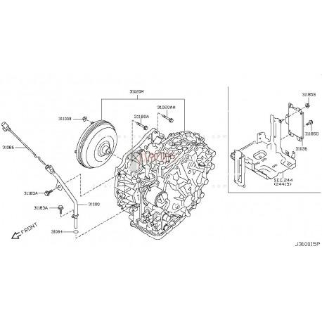 Transmisión (CAJA DE CAMBIOS) Nissan Xtrail Murano