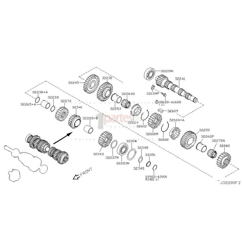 Kit de rodamientos|Nissan|Sentra|Nissan|Sentra|Tsuru|B15
