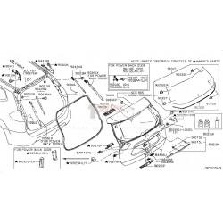 Actuador de compuerta|Nissan|Xtrail|T32|905614CL0A|Grupo