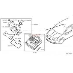 Lampara delantera|Nissan|Sentra|Tsuru|B16|26430ZT50A