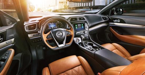New 2021 Nissan Maxima Interior