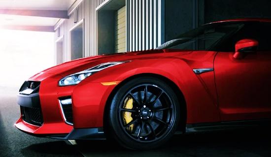 2021 Nissan GTR Track Edition Powertrain